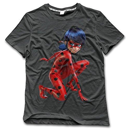 CHA Men's Miraculous Ladybug O-Neck T Shirt