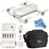 ZEROTECH DOBBY Mini Selfie Pocket Drone with 13MP High Definition FPV With 4K HD Camera Camera, Ritz Gear Camera Bag and Cleaning Cloth