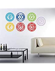Alician Yoga Meditation Symbol Wall Sticker Home Decoration Wallpaper Stickers Wall Decal Household Supplies