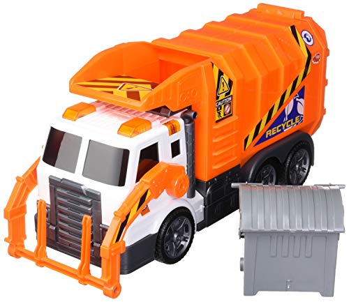 Dickie Toys Light & Sound Garbage Truck