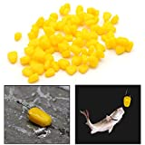 Delight eShop 100Pcs/Lot Soft Fishing Lures Corn Coarse Carp Baits Outdoor Fish Accessories