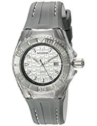 Technomarine Women's 'Cruise' Swiss Quartz Stainless Steel and Silicone Automatic Watch, Color:Two Tone (Model: TM-115157) by TechnoMarine