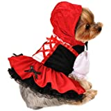 Anit Accessories AP1052-XS Red Hood Dress Dog Costume
