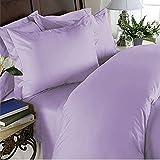 Elegant Comfort 3 Piece Ultra Soft Egyptian Quality Coziest Duvet Cover Set, King/California King, Lavender