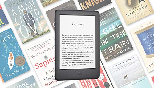 Certified Refurbished Kindle - Now with a Built-in Front Light - Black - Ad-Supported