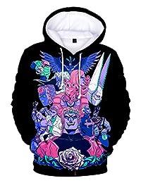 Gumstyle Anime JoJo's Bizarre Adventure Hoodie Sweatshirt 3D Pullover Sweater