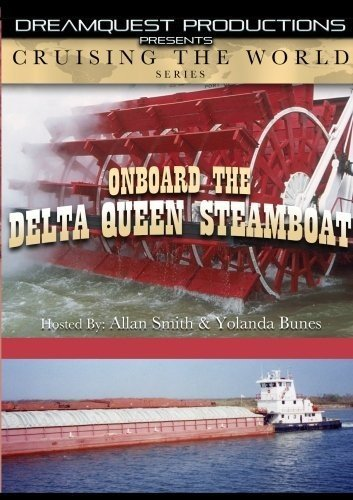 DVD : Cruising The World - On Board The Delta Queen Steamboat (DVD)