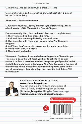 Chetan Bhagat Book Five Point Someone