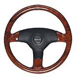 Uflex V61 B 3-Spoke Burlwood Steering Wheel