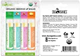 USDA Organic Flavored Beeswax Lip Balms