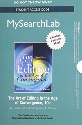 Download mysearchlab with pearson etext standalone access card download mysearchlab with pearson etext standalone access card for the art of editing book pdf audio idq91zjr7 fandeluxe Images