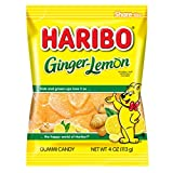 Haribo Ginger Lemon 4-Ounce X 12 Units, 1.60-Kilogram