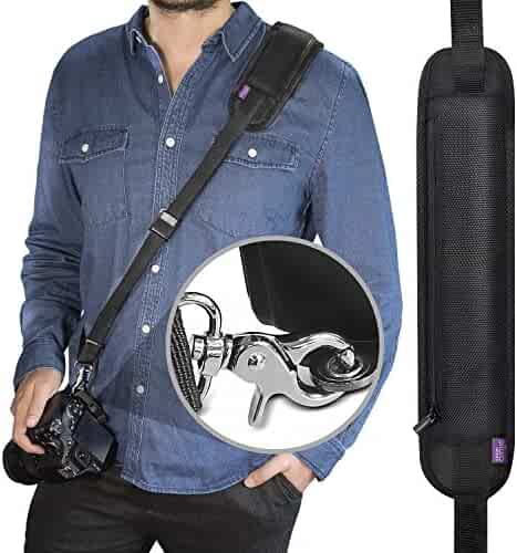 Altura Photo Rapid Fire Camera Neck Strap w/ Quick Release and Safety Tether