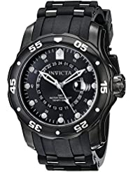 Invicta Mens 6996 Pro Diver Collection GMT Black Sport Watch
