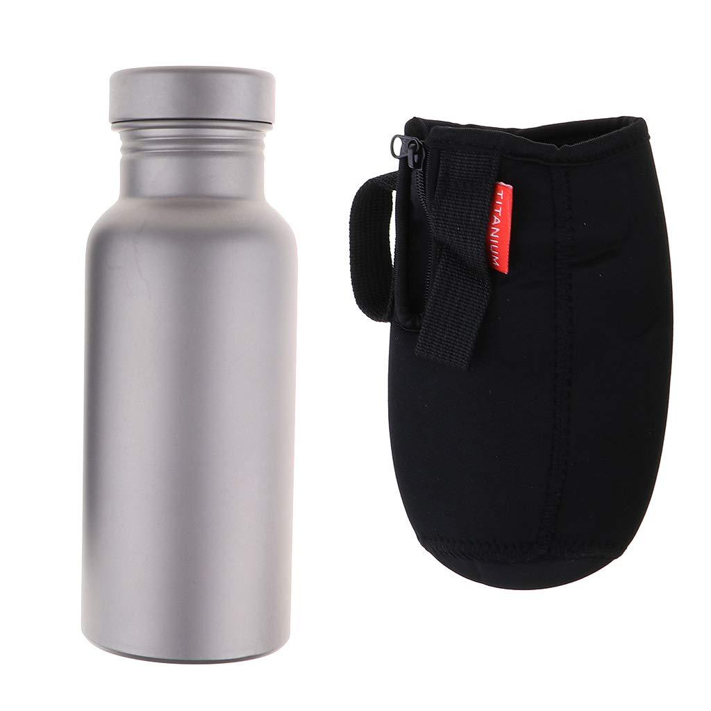 FLAMEER Metall Wasserflasche Trinkflasche Getränke Flasche für Outdoor
