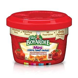 Chef Boyardee Mini Micro Beef Ravioli & Meatballs