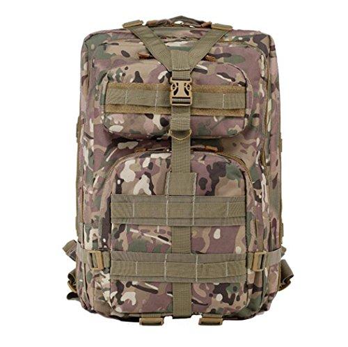 KANGLE Rucksack CS Ausrüstung Erhöht Im Freien Taktische Tarnung Bergsteigen Tasche