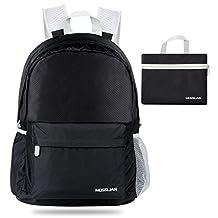 Foldable Backpack :MOSSLIAN Packable Handy Lightweight Travel Backpack Daypack