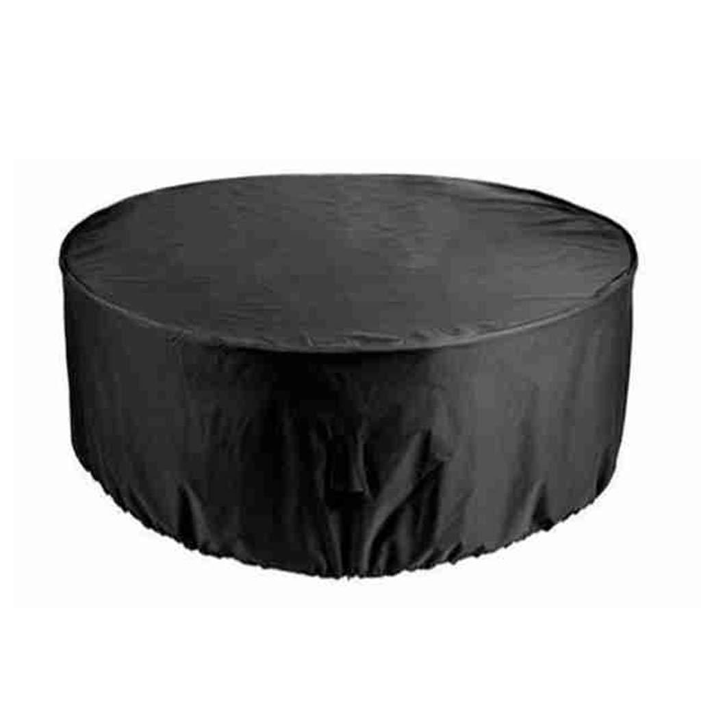 Coperture per Esterno Tavolo Giardino, Ampio copridivano da Giardino con Tavolo rossoondo e Copertura per Set di sedie, Resistente e Impermeabile (Dimensioni   120cm(D)×90cm(H))