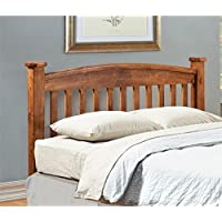 Furniture of America Legales Queen Slat Headboard in Oak