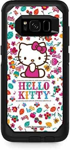 01a047ed7 Skinit Hello Kitty OtterBox Commuter Galaxy S8 Plus Skin - Hello Kitty Smile  White Design -