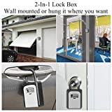 Key Storage Lock Box (2 Pack), Key Lock Box with