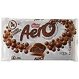 AERO Milk Chocolate Bar, 4 x 42 g (Pack of 4 bars)