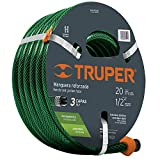 "Truper MAN-20X1/2RE Manguera de 1/2""x20 mts."