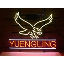 New Yuengling Lager Eagle Real Glass Neon Light Sign Beer Bar Pub Sign H52