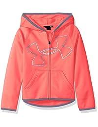 Under Armour girls Branded Long Sleeve Hoodie