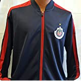 New! Chivas de Guadalajara Navy Red Adult Jacket Large