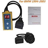 Outzone B800 SRS Reset Scanner OBD Diagnostic Tool for BMW Car Vehicle Airbag Car Electronic Repair Tool B800 Airbag Scan for BMW Fit E36 E46 E34 E38 E39 Z3 Z4 X5