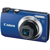 Canon Powershot A3300 16 MP Digital Camera with 5x Optical Zoom (Blue) Benefits Review Image