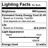 """DELight 12W 6"""" LED Recessed Lighting 10 Pack"""