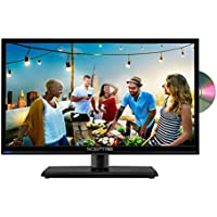 Sceptre 20 LED HDTV, Build-in DVD Player, HDMI, USB, Metal Black 2018 (E205BD-S)