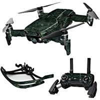 MightySkins Skin for DJI Mavic Air Drone - Green Marble | Max Combo Protective, Durable, and Unique Vinyl Decal wrap cover | Easy To Apply, Remove, and Change Styles | Made in the USA
