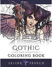 Gothic - Dark Fantasy Coloring Book (6)