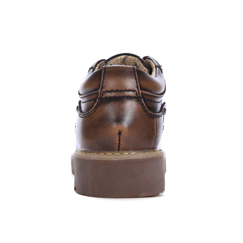 El Negocio de de de los Hombres Oxford Casual Nueva Piel Transpirable de Moda OX se Encuentra en la Suela Exterior con Cordones de Zapatos ca1a02
