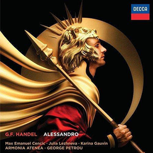 CD : Armonia Atenea - Handel: Alessandro (3PC)