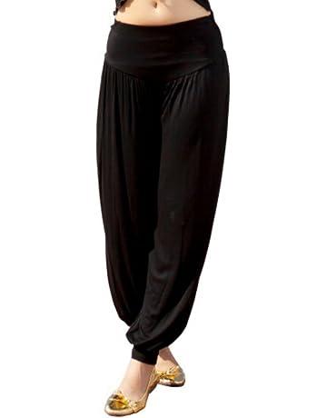 Pantalon de danse de danse du ventre pour le costume de danse de yoga de danseur tribal Jambi/ères de VESTE de FANCY M L XL