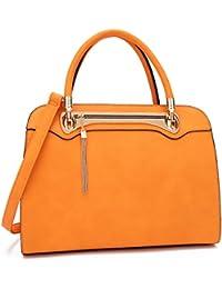 Women Structured Satchel Handbag Top Handle Purses Fashion Shoulder Bag with Fringed Tassel