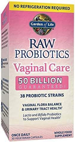 Probiotics: RAW Probiotics Vaginal Care