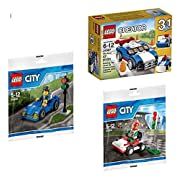 Amazon Lightning Deal 99% claimed: LEGO Ultimate Driving Bundle 3-Sets - City Go-Kart 30314, City Race Car 30349, and Creator 3-in-1 Blue Racer 31027