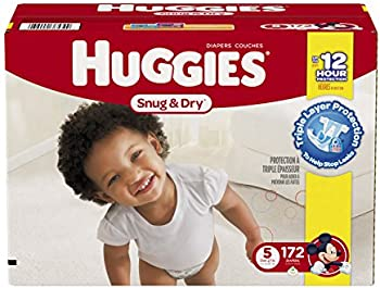 172 Count Huggies Snug & Dry Diapers