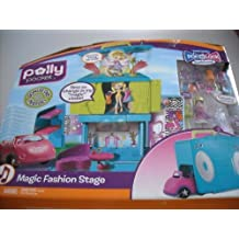Mattel Polly Pocket Pop N Lock World Rockin' Magic Fashion Stage