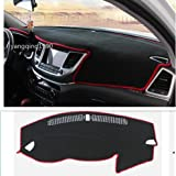 UNAKIM--Car Dashboard Dash Mat DashMat Sun Cover Pad Red For HYUNDAI TUCSON 2016 2017