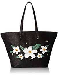Daisy'D and Confused Flower Tote Shoulder Bag