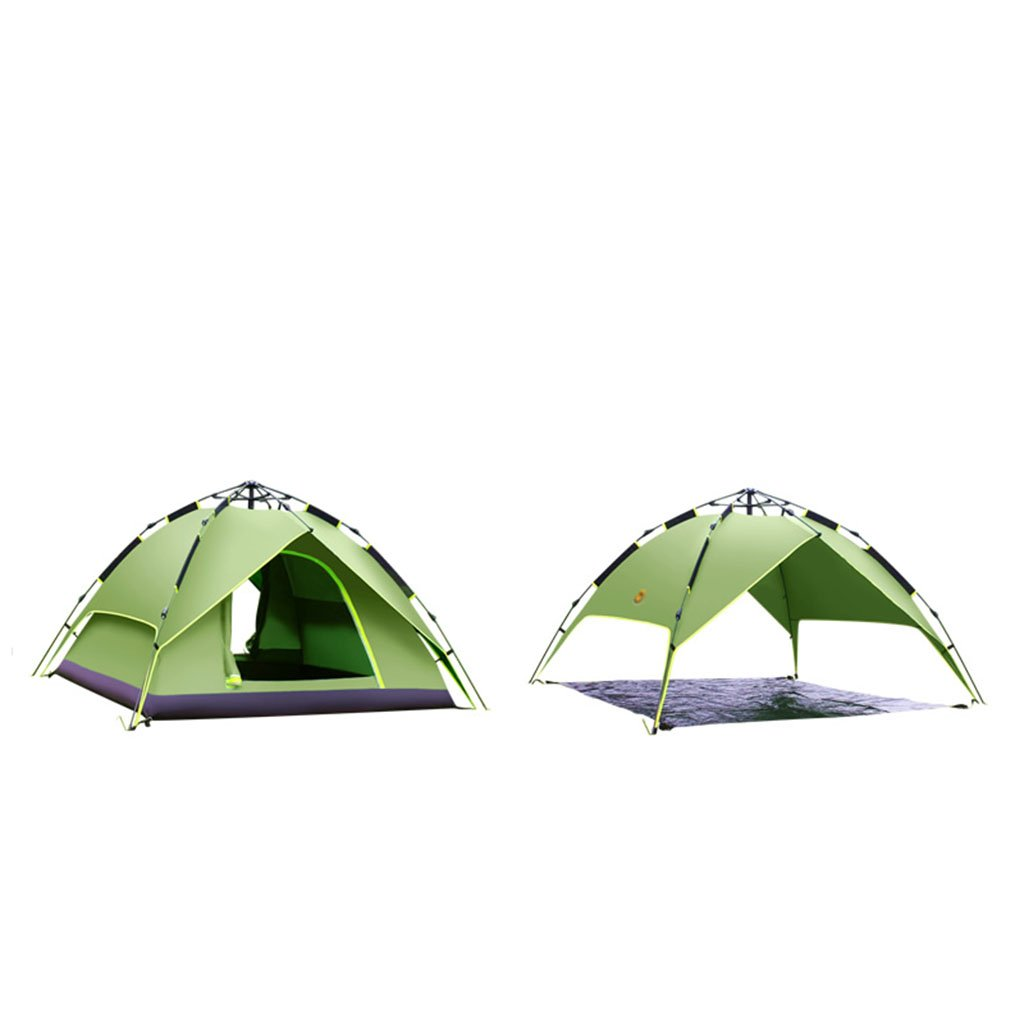 TENT-L ZP Zelt, regendichte Einzelperson 2 Personen 3-4 Personen automatische Feld Outdoor Camping Zelt huwaizhangpeng (Farbe : 6)