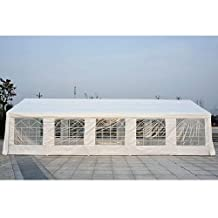 Outsunny Carport Wedding Tent, 32'x 16'