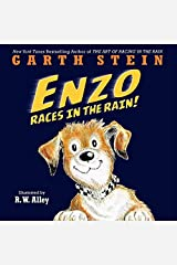 Enzo Races in the Rain! Hardcover